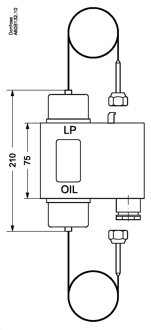 danfoss pressure switch connection diagram