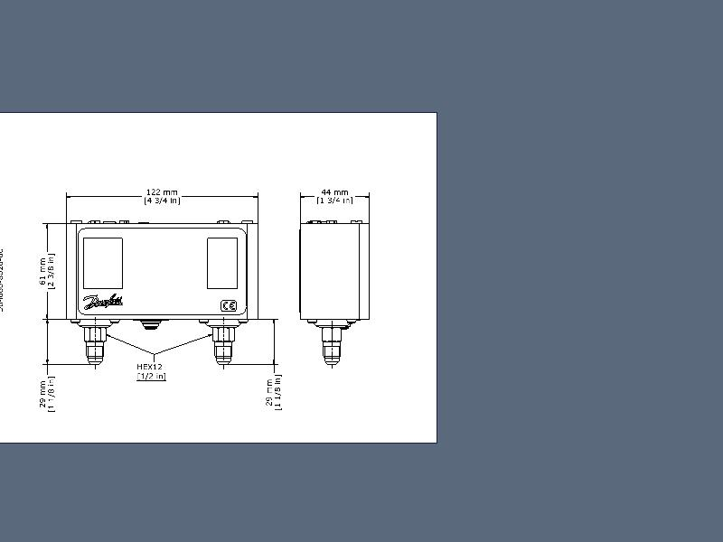Pressure Switch Kp15 Pressure Switches Switches Cooling Danfoss Global Product Store