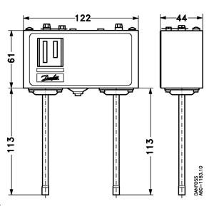 Pressure switch, KP15 | Pressure Switches | Switches | Cooling ... on
