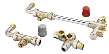 Колектори с регулиращи вентили
