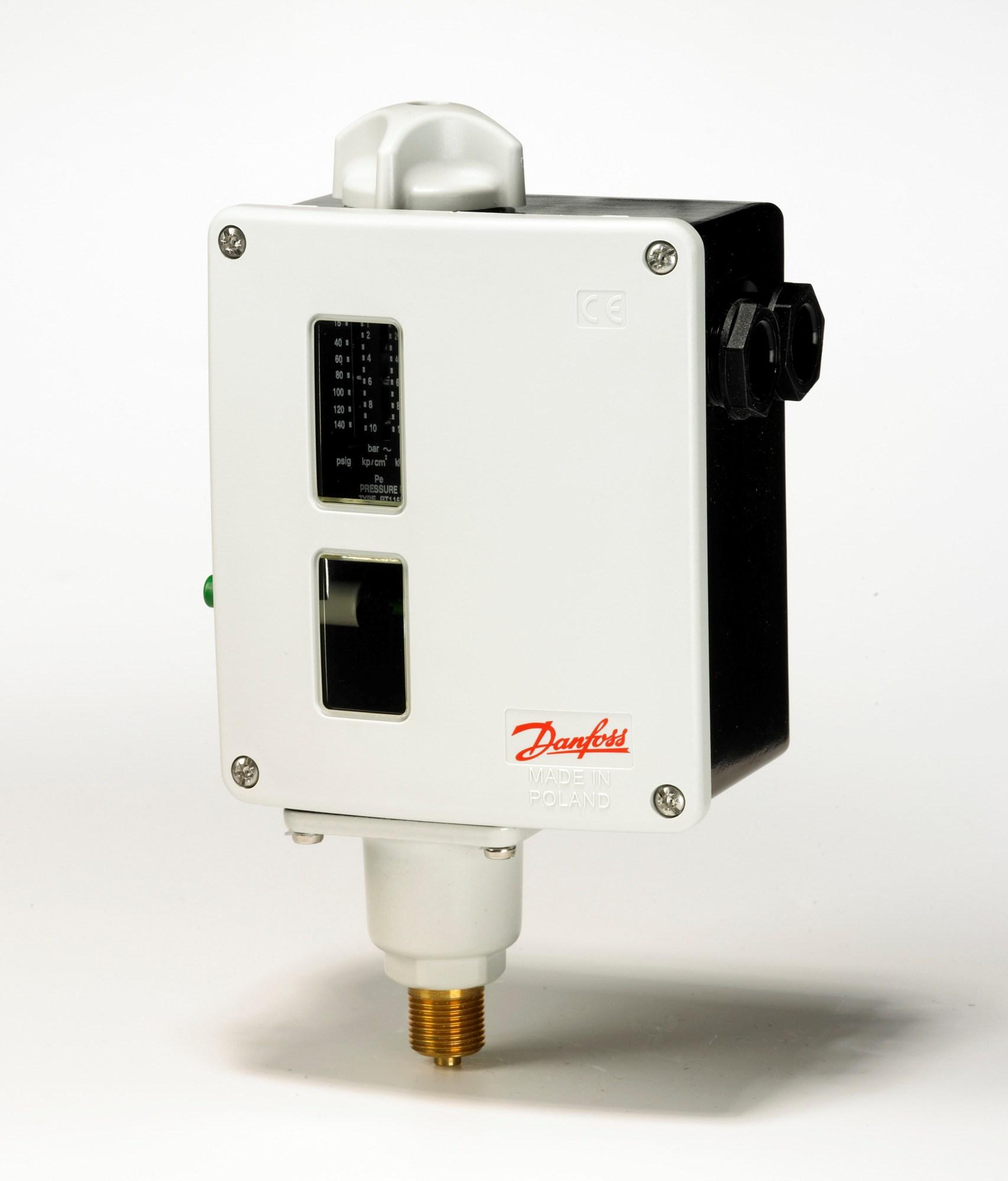 031E021566 Module presostat pression 26 Bar Type de sorties 3PST-NC DANFOSS