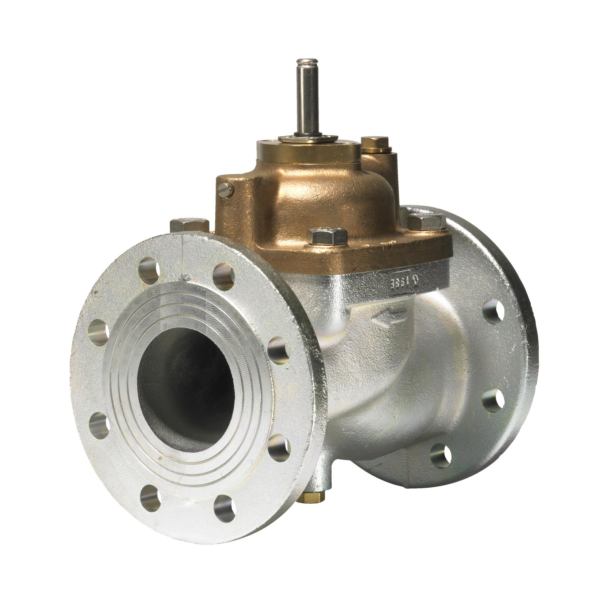 EV220B, Электромагнитный клапан, Фланец, Нормально закрытый (НЗ), NBR