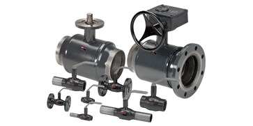 Steel Ball Valves for District Heating and District Cooling