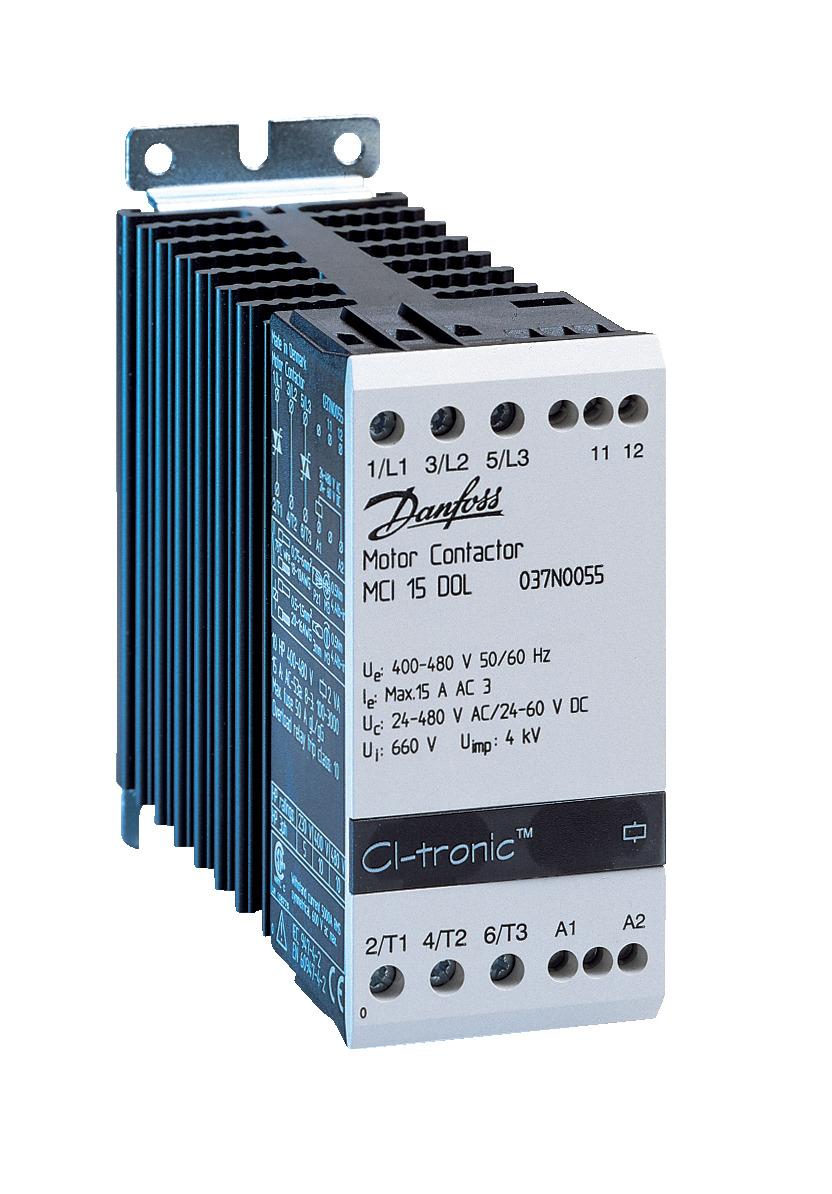 Электронный контактор электродвигателя, MCI 15 DOL
